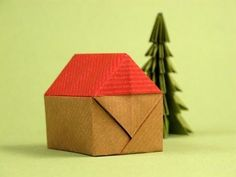 Casita - Origami Little house -Instructions #OrigamiLife