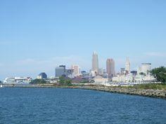 Detroit Shoreway (Edgewater Park) Edgewater Park, Downtown Cleveland, Battery Park, Lake Erie, San Francisco Skyline, Detroit, New York Skyline, Michigan, The Neighbourhood