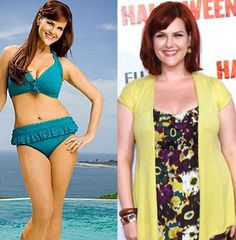Sara Rue lost 50 pounds in pre-wedding weight while following the Jenny Craig diet program.