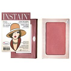 The Balm Instain Powder Blush Pinstripe – It's vegan!