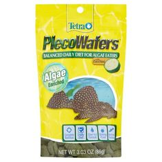 Tetra Tetraveggie Tropical Algae Wafers for Plecostomus Fish and Bottom Feeders, oz, Multicolor Weight Loss Tips, Lose Weight, Vegetarian Diets, Snack Recipes, Chips, Breakfast, Easy, Food, Snack Mix Recipes
