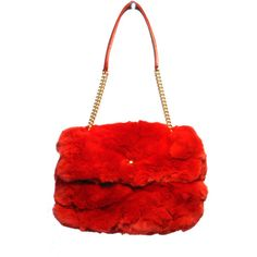 Pre-Owned Chanel Red Rabbit Fur Classic Flap Bag- Limited Edition and other apparel, accessories and trends. Browse and shop 3 related looks.