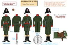 Servizio di sanità ufficiali chirurghi di 3° classe 1805