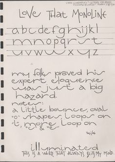 Exemplars for Lettering Journal March 2006 I dream of being able to write like… Alphabet Design, Hand Lettering Alphabet, Doodle Lettering, Lettering Styles, Creative Lettering, Handwritten Letters, Calligraphy Letters, Typography Letters, Brush Lettering