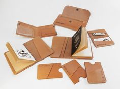 NEW: Vegetable Tanned Leather goods - xobruno