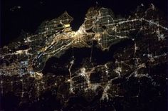 Cool photo of Seattle at night – as seen from International Space Station | Seattle's Big Blog - seattlepi.com