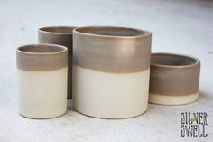Stoneware containers