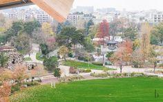Bois de Boulogne and Jardin d'Acclimatation view from Fondation Louis Vuitton Fondation Louis Vuitton, Brunettes, Dolores Park, Fashion Beauty, Around The Worlds, Paris, Travel, Viajes, Nice Asses