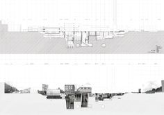 Urban Sections Site Sections AA school of architecture Jon Charles Lopez