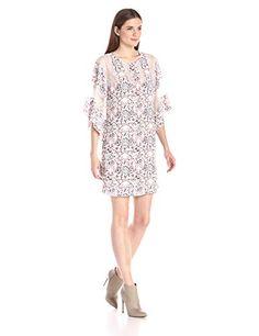 BCBGMax Azria Women's Susannah Lace Blocked Pattern Dress - http://darrenblogs.com/2015/11/bcbgmax-azria-womens-susannah-lace-blocked-pattern-dress/