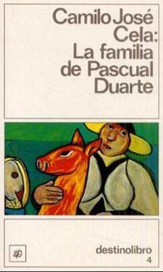 La familia de Pascual Duarte (1942) Camilo José Cela. Los personajes viven en un ambiente de marginación, sumidos en la incultura, el dolor y la angustia; esto hace que las historias giren en torno a lo grotesco o repulsivo buscando con ello impactar al lector. Puede por tanto decirse que el tremendismo es un tipo de crítica social.