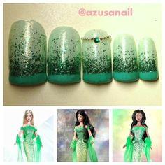 barbie emerald by azusa #barbie #azusa