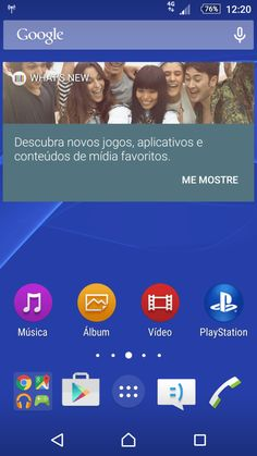 Screenshot Sony Xperia Z1 5.1.1