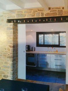 ouverture mur porteur pose ipn u et vitrification bricolage pinterest. Black Bedroom Furniture Sets. Home Design Ideas