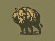 Wild Boar by Gal Yuri
