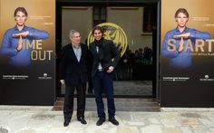 Rafael Nadal Attends 'Champions Drink Responsibly' in Sitges