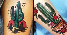 22 Prickly Cactus Tattoos