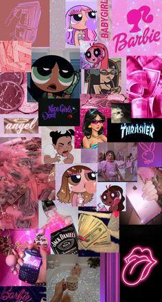 Wallpaper rosa aesthetic bad girl