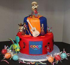 Coco Cake by Cecy Huezo .  www.delightfulcakesbycecy.com