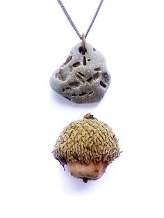 Natural stone necklace, feel forest calm even in the city. - Authentic Arts | Natural Jewelry