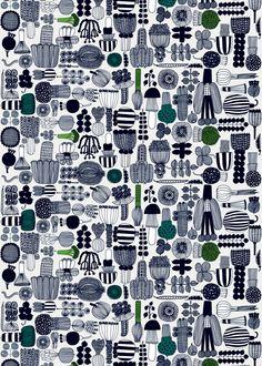 Puutarhurin parhaat coated fabric | Coated Fabrics | Marimekko