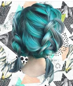 {#VPInspiration} Never enough of these amazing hair color~😍😍 by @glamiris💚💚