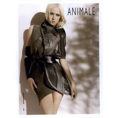 Animale Ad Campaign Spring/Summer 2010 - MyFDB ❤ liked on Polyvore featuring models, backgrounds, ad campaign and raquel zimmermann