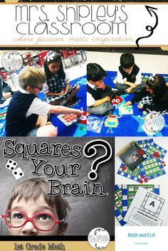 Squares Your Brain is an exciting new game that allows your scholars to review…