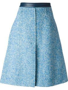 Купить Acne Studios юбка 'Kier' с узором шеврон в Dell'oglio Farfetch предлагает товар из лучших независимых бутиков со всего мира.