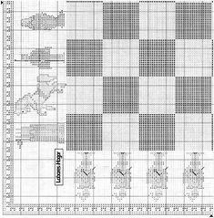 tengo muchos patrones de punto de cruz. (pág. 41) | Aprender manualidades es facilisimo.com Cross Stitch Games, Cross Stitch Patterns, Boy Art, Needlework, Embroidery, Flora, Chess, Projects, Gaming
