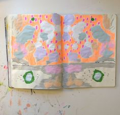 by ashleyg sketchbook page