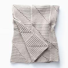 Bernat Mighty Ridge Crochet Afghan