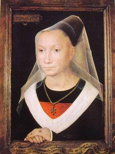 Hans Memling: Ritratto di donna 1480