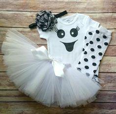 Mädchen Gespenst Kostüm Mädchen Halloween von TheLittleQueenBee