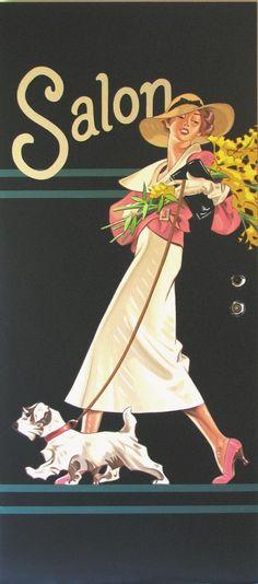 Jazz Age & Thereabouts — christinerod:   Salon, J. C. Leyendecker, 1934