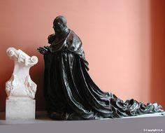 <b>Germain Pilon</b> : <b>René de Birague</b> : <b>Valentine Balbiani</b> : Eléments du monument funéraire du Cardinal René de Birague (1506-1583), chancelier de France