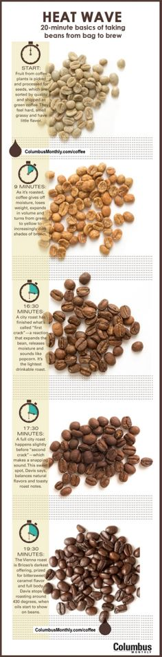 Cafe Brioso owner Jeff Davis explains the roughly 20-minute basics of taking beans from bag to brew. www.ColumbusMonthly.com/coffee