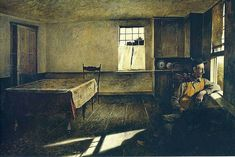 Andrew Wyeth Andrew Newell Wyeth (July 1917 – January was a visual artist,primarily a realist painter, working predomin. Jamie Wyeth, Andrew Wyeth Paintings, Andrew Wyeth Art, Nc Wyeth, Cincinnati Art, Cincinnati Museum, American Artists, Les Oeuvres, Art Museum