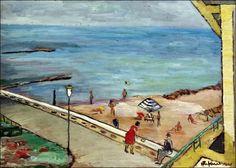 Peisaj cu plaja , (1957)