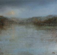 Amanda HOSKIN - Misty Morning, Kingswear Devon