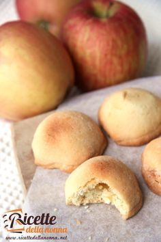 Ricetta cuor di mela #apple #recipe #ricette #cookies #ricettedellanonna