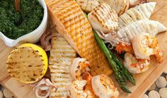 Grilled Fish Combo - Santa Maria Funchal Restaurant