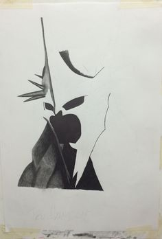3 - Graphite on A2 paper - Witch King of Angmar - The Lord of the Rings