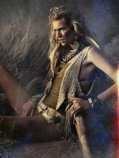 Native   Toni Garrn   Alexi Lubomirski #photography   Vogue Spain   #bohemian #boho #hippie #gypsy