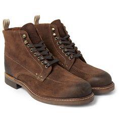 Rag & boneRowan Burnished-Suede Boots