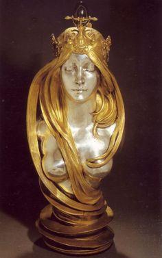 アルフォンス・ミュシャ 自然 1899-1900の画像:天国太平  愛書連 <全国愛書家連盟>