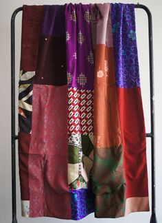 $320 Another colorful vintage kimono blanket piece that would go amazing in any home! Grab it at our online store.