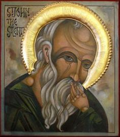Saint John the Silent. Bishop of Colonia in Palestine and a hermit.  Feastday: May 13th.