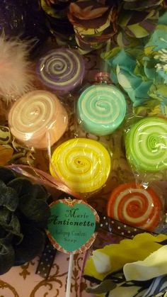 Marie Antoinette Lollipop Confetti Soap by SHOPRIDDLE on Etsy, $2.99