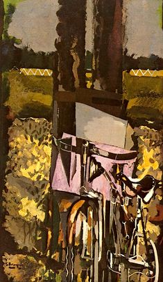 GEORGES BRAQUE The Bicycle (1952)